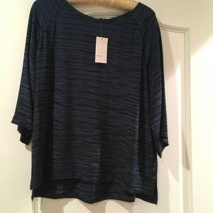 NWT Vince silk blouse